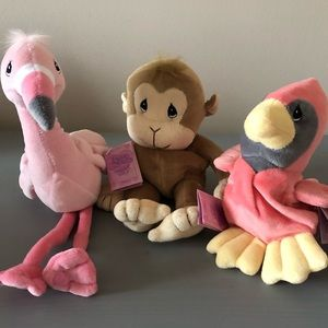 2/$30 Vintage Precious Moments Tender Tails Toys